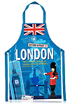 London Scrapbook PVC Apron