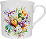 Spring Garden Short and Sturdy Bone China Mug