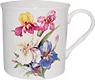 Iris Short and Sturdy Bone China Mug