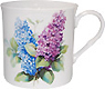 Lilac Short and Sturdy Bone China Mug