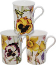Pansy China Mug Set