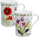 English Meadow, Set of 2 Mugs