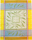 European Kitchen Towel - Yellow Peas