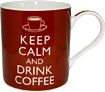 Keep Calm and Drink Coffee Fine China Mug