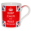 Keep Calm & Rule Britannia Mug