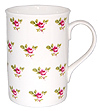 Dot Rose Bone China Mug