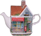 Post Office, Cottage Teapot
