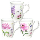 English Meadow Mugs, Set of 3