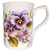 Pansy Bone China Mug