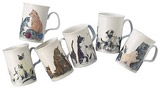 Cat Lovers - Bone China Mug Set