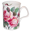 English Rose Bone China Mug - Pink