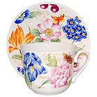 World of Flowers - Jumbo Cup & Saucer Set