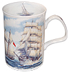 Sailboat Fine Bone China Mug
