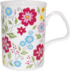 English Bouquet Bone China Mug - Yellow