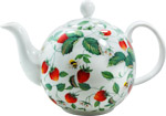 Alpine Strawberry Teapot, 6-cup