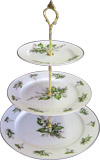 3-Tier Cake Stand, Lily of the Valley
