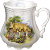 English Cottage - Victorian Tankard Mug