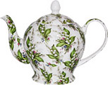Lily of the Valley, Chintz Teapot, 6-Cup