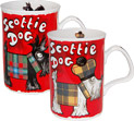 Scottie Dogs, Set of 2 Mugs