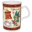 Fancy Coffee Bone China Mug - Arabica
