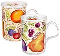 Soft Fruits Mug - Set of Two