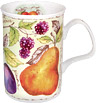 Soft Fruits Bone China Mug - Apricots