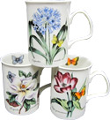 Botanical Garden & Butterfly, Set of 3