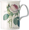Redoute Rose Mug - Fine Bone China