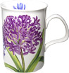 Agapanthus Mug - Fine Bone China - Purple