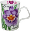 Pansy Orchid - Bone China Mug