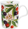Sweet Cherries Bone China Mug