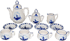 Child's Tea Set - 13pc
