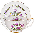Thistle Fine Bone China Cup & Saucer Set