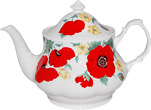 Monet Teapot, 6 Cups