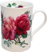 English Rose bone China Mug - Burgundy