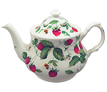 Alpine Strawberry Teapot, 6 Cup