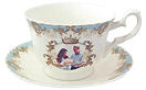 Prince George Commemorative Jumbo Cup & Saucer Set