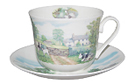 English Country Breakfast Cup and Saucer