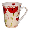 Tulips Ceramic Mugs - Poppy