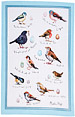 Linen Tea Towel - Birdsong