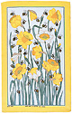 Daffy Bees - Linen Tea Towel