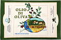 Cotton Tea Towel - Olive Oil Label