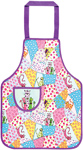 Child's PVC Apron Patchwork Cats