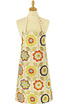 Big Flower - Oilcloth Apron