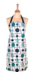 Oil Cloth Aprons - MM Pavilion Blue