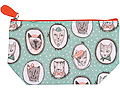 Fifi Cats Oil Cloth Cosmetic Bag