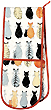 Cats in Waiting Double Oven Mitt