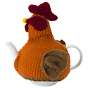 Knitted Tea Cosy - Chicken