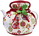 Christmas Cats Muff Tea Cozy