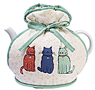Catwalk Muff Tea Cozy